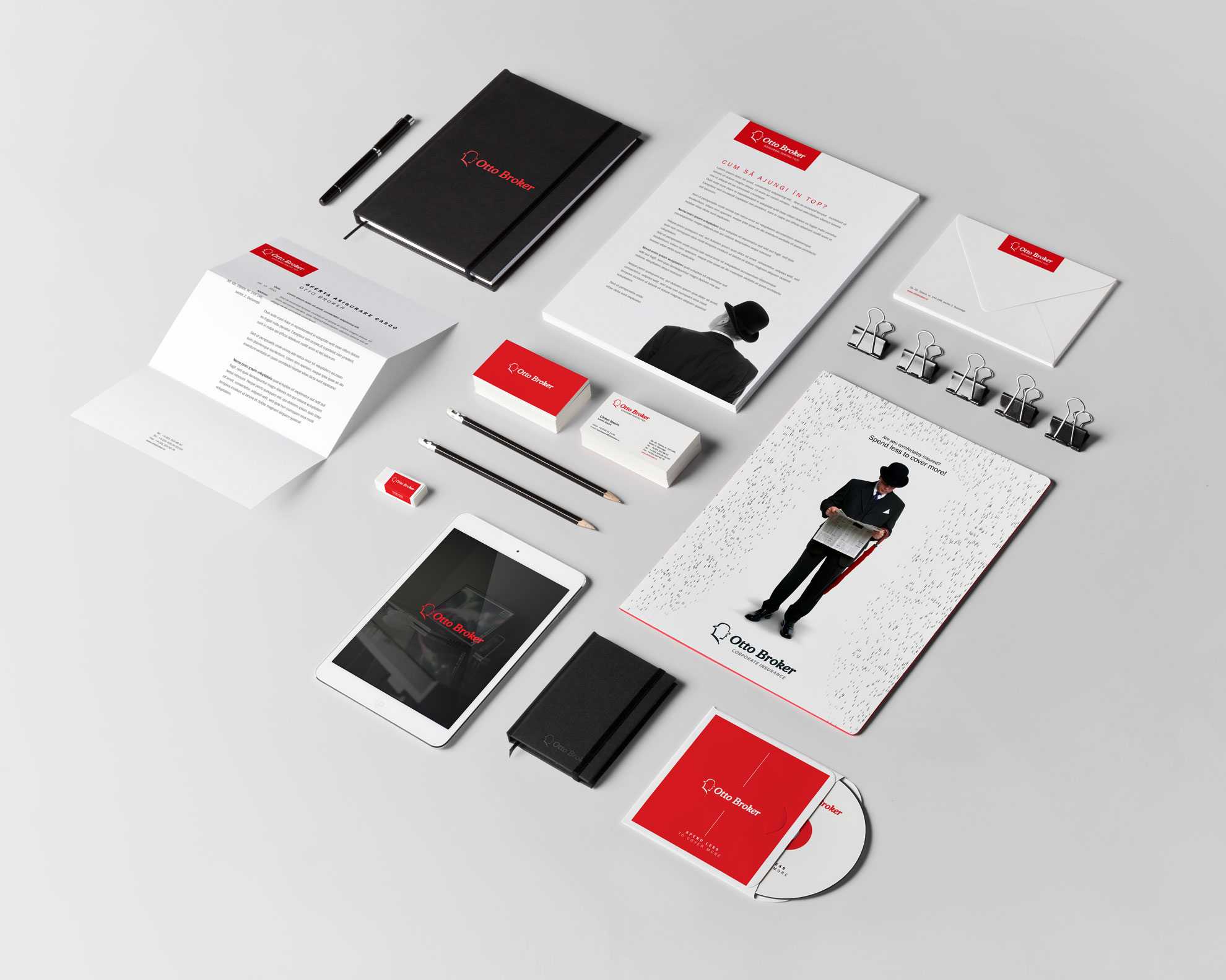 Otto Broker- Branding and Packaging by Eikon7 Digital Marketing Agency